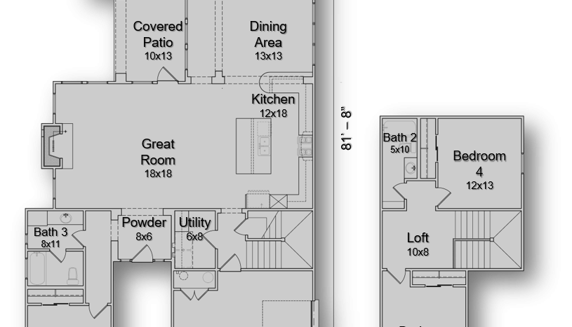 The Transitional Floorplan