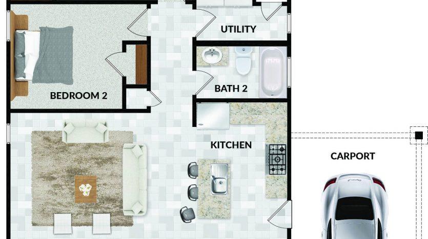 floorplan 1420 Bob White Drive