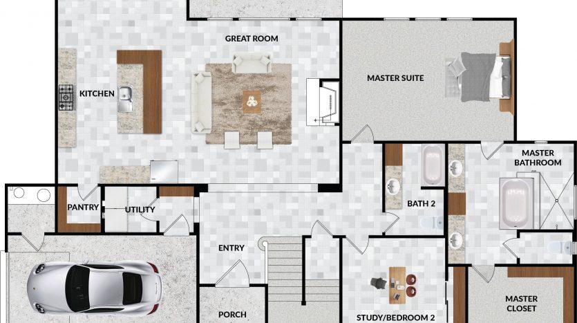 20711 Blue Quail Run - floorplan-1st