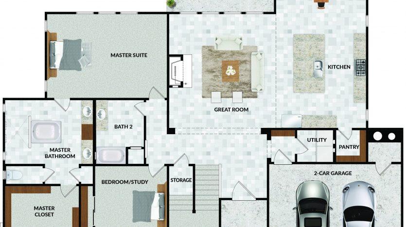 8606 Falcon Place - floorplan-1st