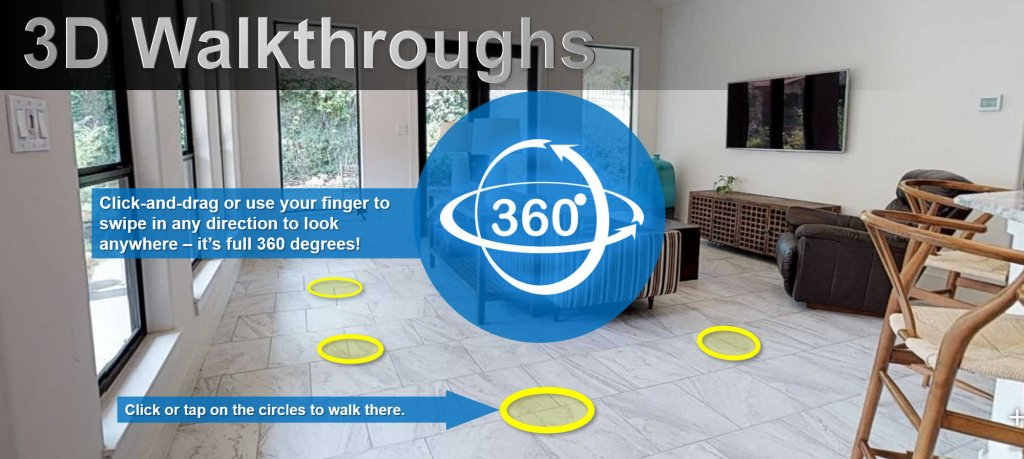 3D walkthroughs