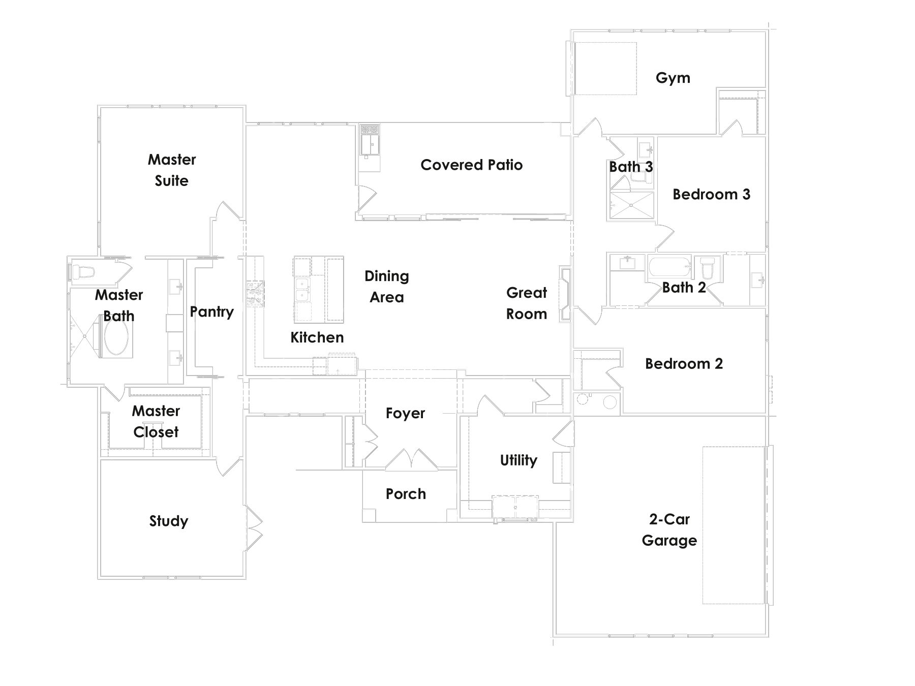 The Osprey floorplan